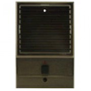 Valet Antique Brass Door Station Louvered VDSLA