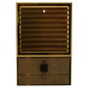 Brass Door Station - Louvered