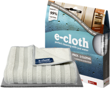 e-cloth Stainless Steel Cleaning (2 Cloths)
