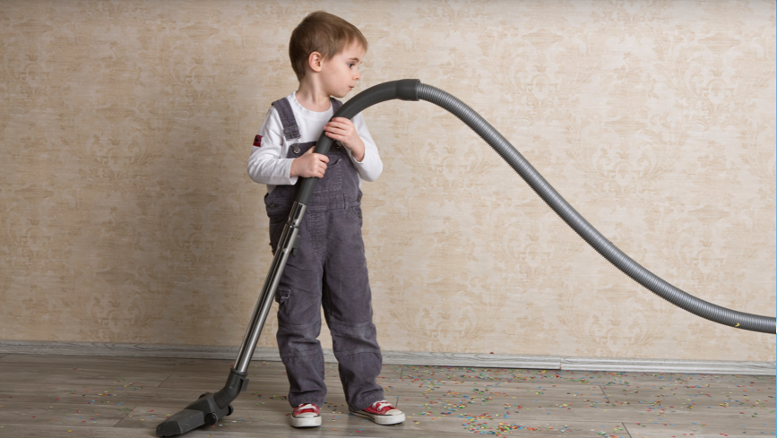 Boy with Vacuum